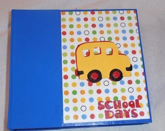 6x6 School Scrapbook Photo Album