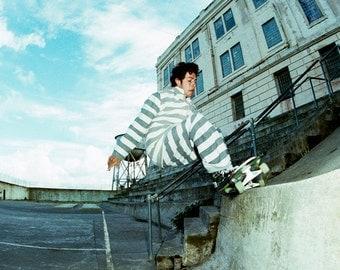 Mark Gonzales at Alcatraz - April 1988