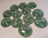 I CACHE glass stone SWAG x10pcs