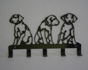 Dalmatian key rack,dalmations key holder,dog leash holder,fireman dog, Dalmatian wall art,dog lovers decor,made in the USA on route 66