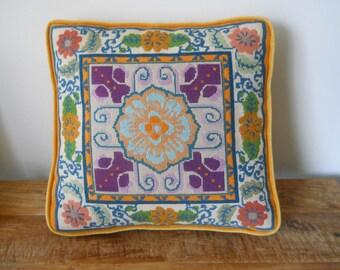 Retro Handmade Pillow