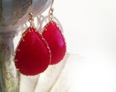 2015 - Bring on Spring!!! Luxe Jewel Drops Poppy Red