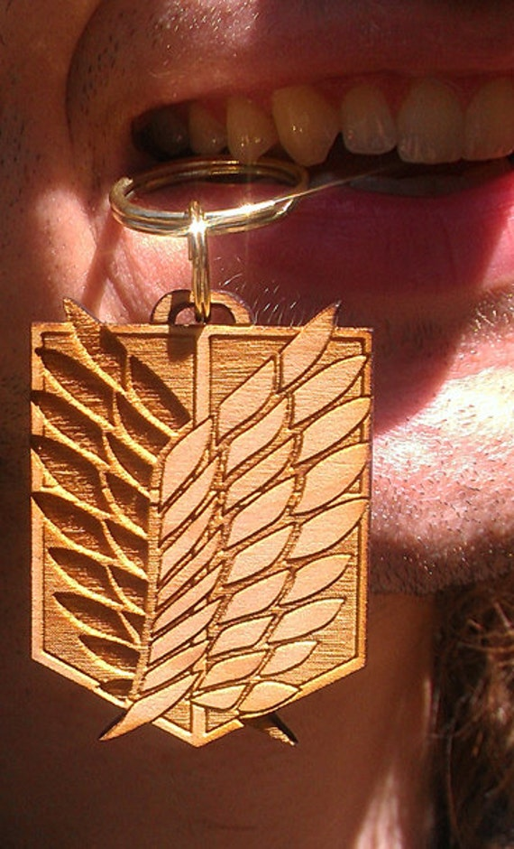 Laser Cut Wooden Scouting Legion Emblem -- The Wings of Freedom