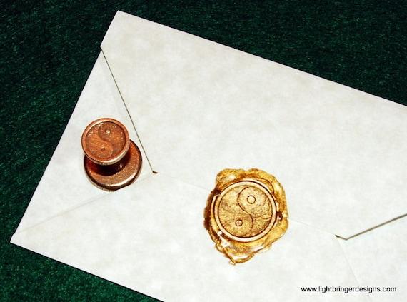 Yin Yang Wax Seal
