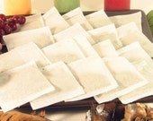 """100 pcs Empty Tea Bags or Herbs Heat Seal Loose 2"""" x 3"""" Inches"""
