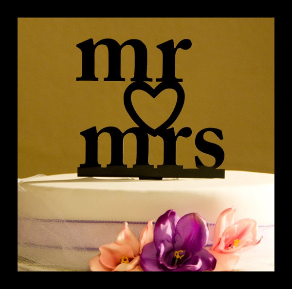mr and mrs wedding cake topper mr and mrs wedding cake topper wedding cake topper 17629