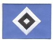 Bundesliga Hamburg Hamburger SV German Germany Football Soccer Embroidered Badge Patch