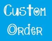 Custom Order for Lindsay - Rag Quilt