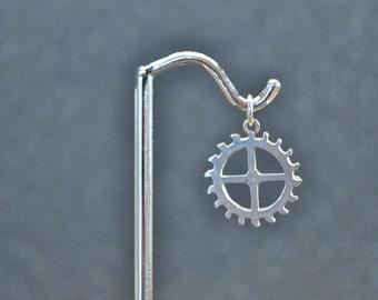 Sterling Gear 4 Pendant