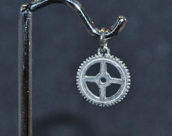 Sterling Gear 2 Pendant