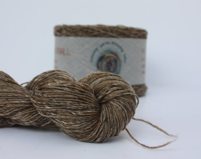 Spinning Yarns Weaving Tales - Tirchonaill 518 Cafe 100% Merino for Knitting, Crochet, Warp & Weft
