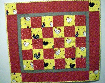 Crazy Chicks Table Topper
