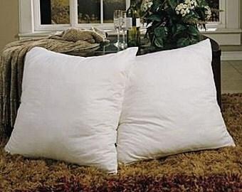 "2 x 26"" x 26"" (65cm x 65cm) Duck Feather Cushion Pad"