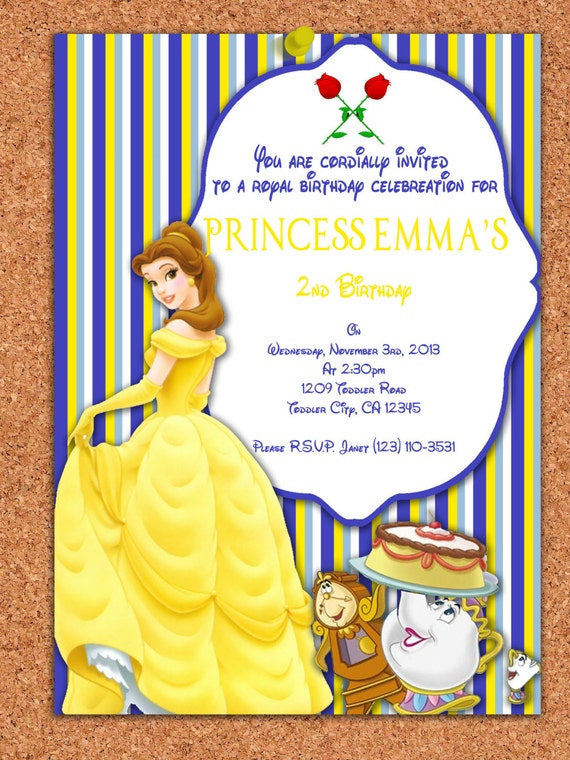 Princess Party Invitations Printable Free as awesome invitations ideas