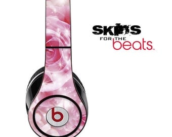 Pink Abstract Skin for the Beats by Dre Studio, Solo, MIXR, Pro or Wireless Version Headphones