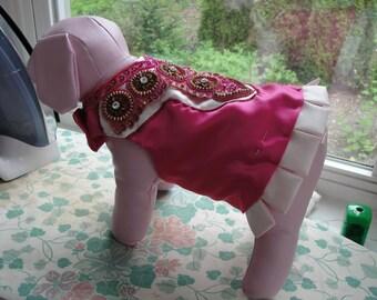 Carnival Pink Harness Jacket -  Dog Costume
