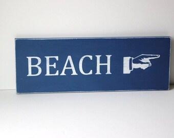 custom beach sign, beach sign, beach decor, distressed wood sign, coastal decor, beach house,