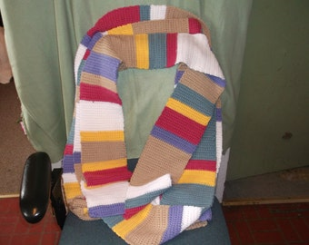 26 foot long Dr. Who Scarf