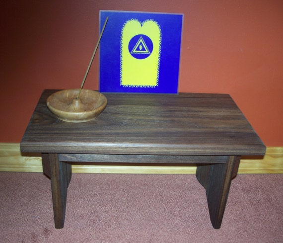 Personal Prayer And Meditation ALTAR By EarthBench....DARK