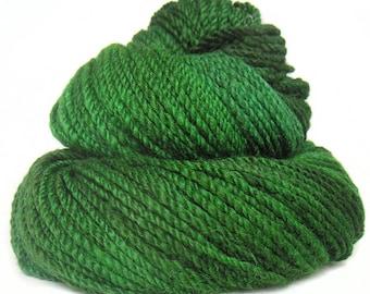Handspun Yarn handdyed baby alpaca merino wool nylon