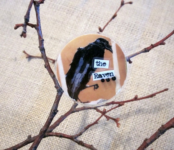 Brooch - The Raven by Edgar Allan Poe