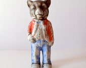 vintage 1960s Lone Wolf figurine / made in Japan