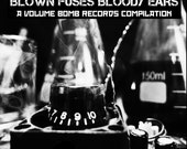Punk Compilation CD - Blown Fuses Bloody Ears - from Volume Bomb Records - local rock - Portland OR