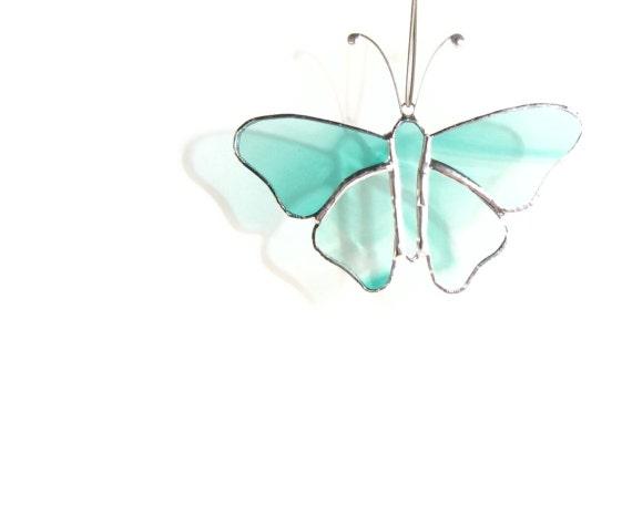 Emerald Green Butterfly Suncatcher
