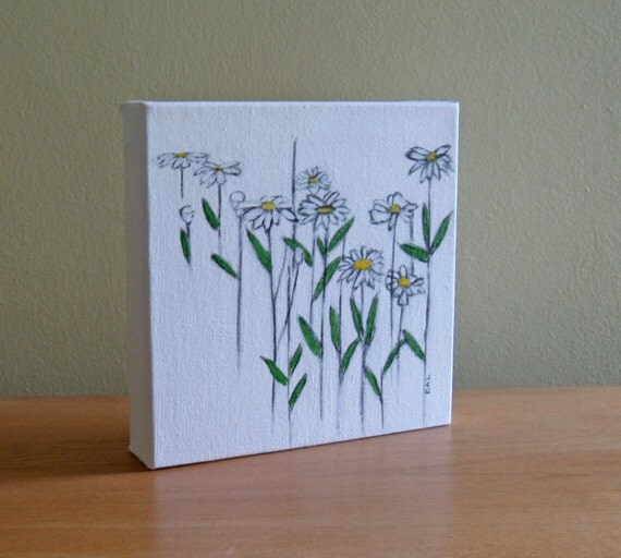 SOLD - Daisies