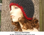 Instant Download Knitting Pattern - Knit Ear Flap Hat Pattern - Knit Hat Pattern for Garter Series Hats - Womens Hat - Womens Accessories
