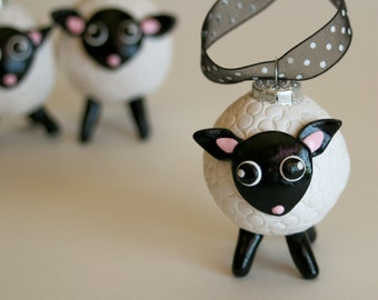 Little Lamb Kawaii Cute Ornament