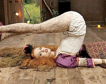 The Original Boudoir Queen Bed Jacket Baby Doll as seen in Vogue Magazine CUSTOM
