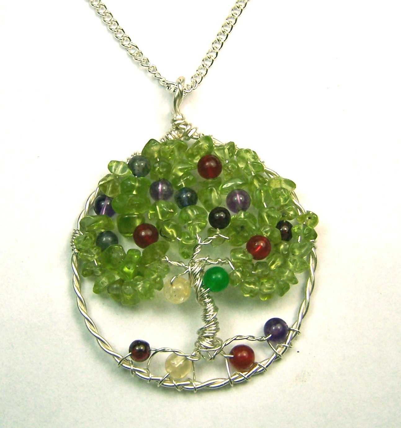 birthstone jewelry for birthstone jewelry necklace pendant family tree great 3664