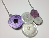 Button Necklace - Desired...