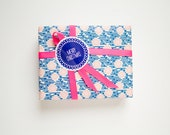 """Holiday Gift Stickers """"Merry Christmas"""" - For gift wrapping, envelope seal or Red, blue or assorted pack - Set of 10"""