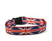 """1"""" Dog Collar London Bridge buckle or martingale collar"""