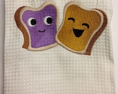 Peanut Butter loves Jelly - Kitchen Towel