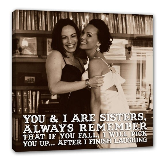 Sister Gift/ Best Friend Lyrics/ Sister Vows Quotes/ Best Friend Gift ...