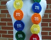 CROCHETED Candy Scarf PATTERN