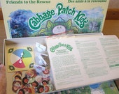 Cabbage Patch Kids Board Game 1984 Parker Friends to the Rescue Dolls