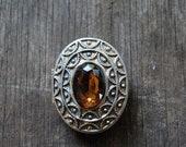 Vintage EDWARDIAN style brooch / 70's brooch / pin / AVON