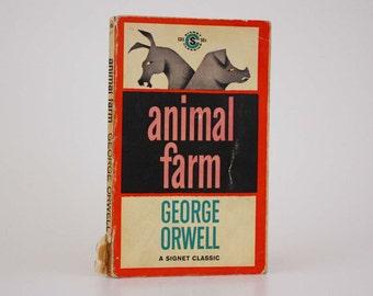 Animal Farm by George Orwell - Vintage Book c. 1961