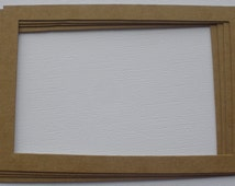 4 X 6 FRAME - Picture Frames - Bare Chipboard Frame Die Cuts