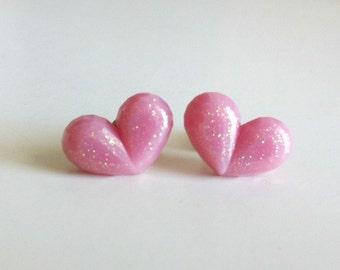SALE: Sugar Plum Heart Earrings