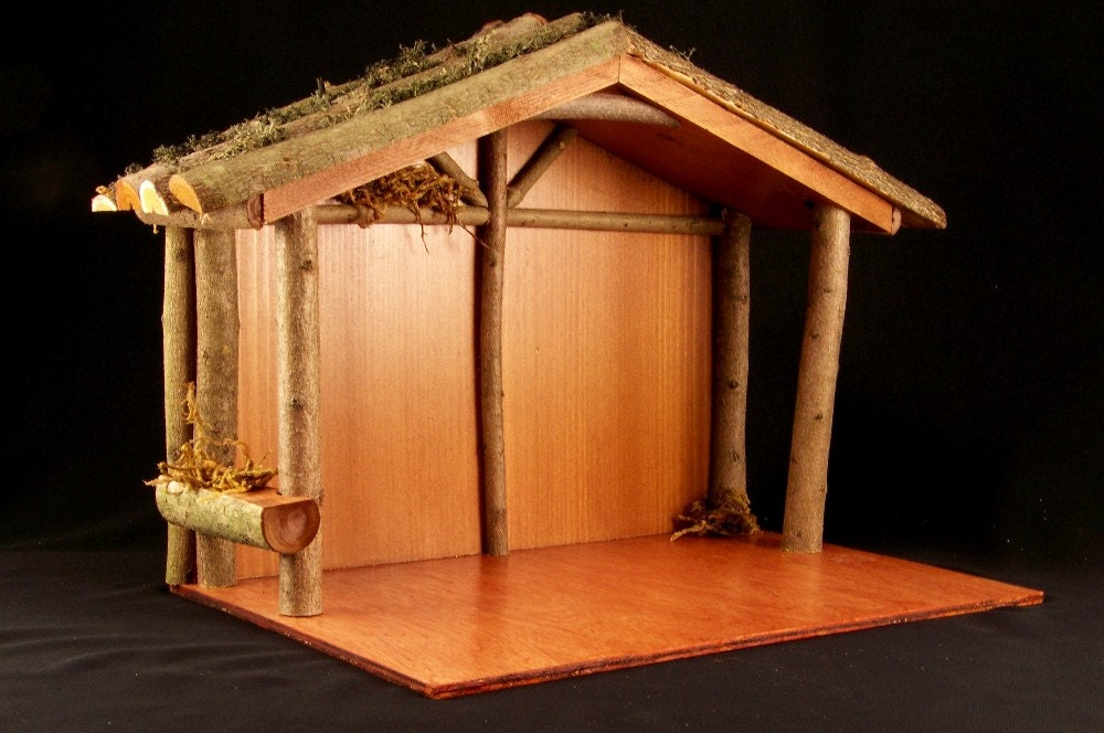 Download How To Build Wood Nativity Stable Plans Free