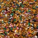 50 Assorted vintage Swarovski & Czech baguette rhinestones - mixed colors and sizes