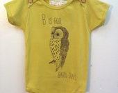B is for Barn Owl Onsie