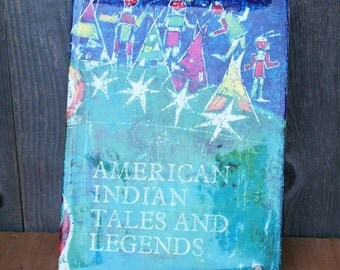 "1965 ""American Indian Tales and Legends"" Book"