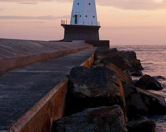 Ludington Bliss - Canvas Wrap - Michigan Photography