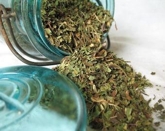 Organic Spearmint Leaf, spearmint tea, Potpourri, Mint- Dried Spearmint | 1 ounce | Natural Herb | Dream Herb |